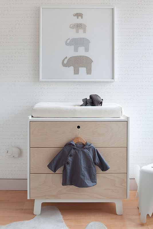 neutral nursery design